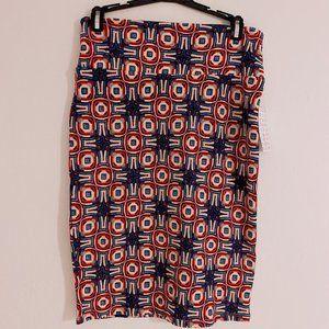 LuLaRoe Multicolor Cassie Pencil Skirt   Sm - NWT